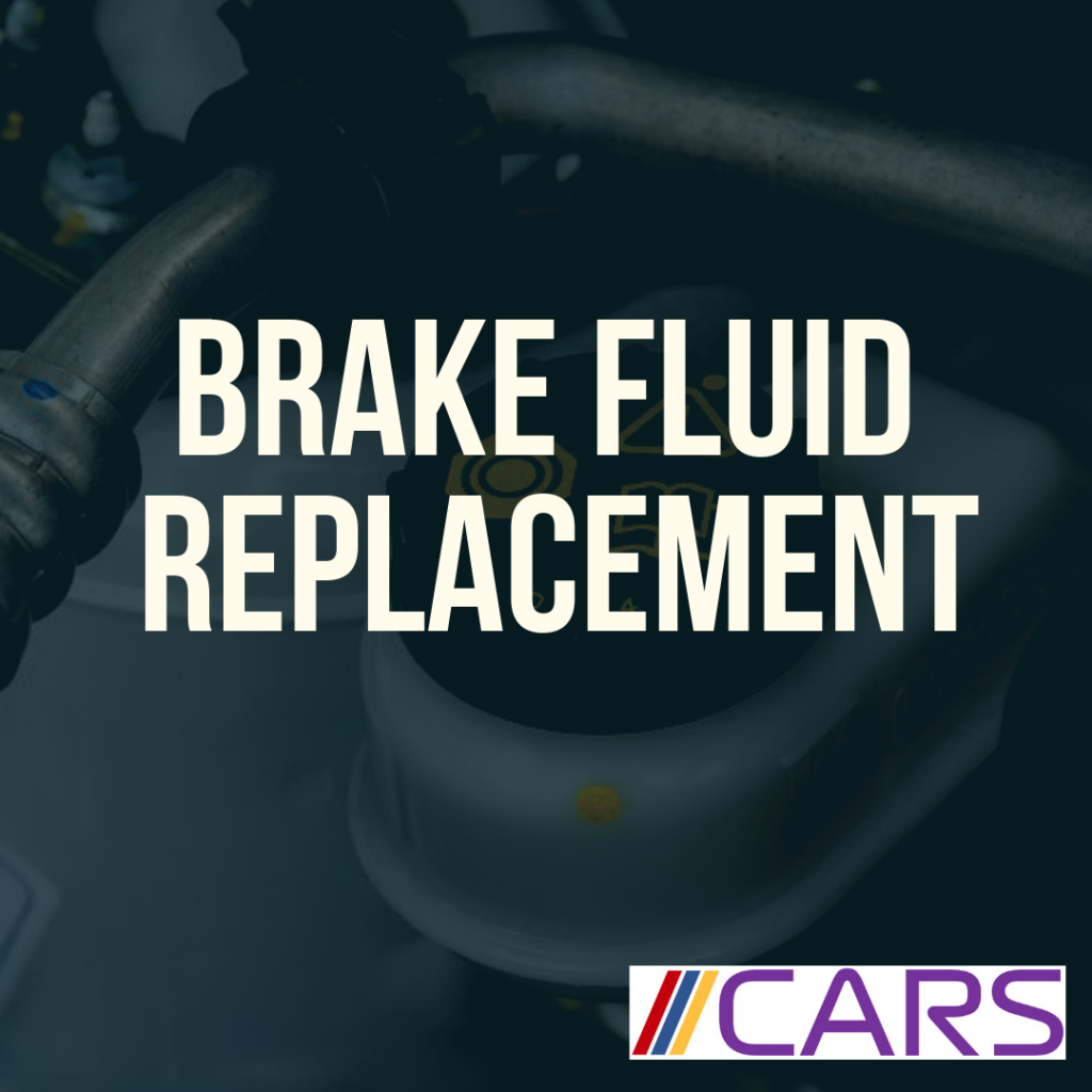 Brake Fluid Replacement Banner